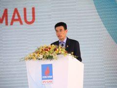 Tổng giám đốc PV GAS Dương Mạnh Sơn báo cáo về quá trình thực hiện dự án