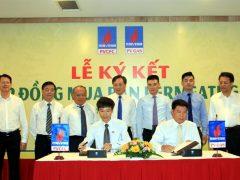 Lễ ký kết Hợp đồng mua bán khí permeate gas