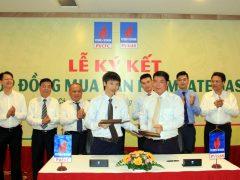 PV GAS và PVCFC thực hiện nghi thức ký kết